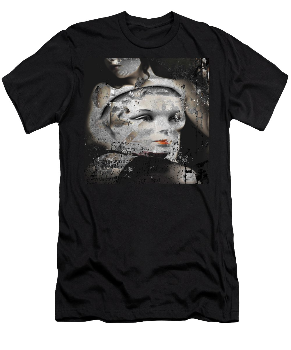 Sexy Women Men's T-Shirt (Athletic Fit) featuring the photograph Double Dip Lipstick by The Artist Project