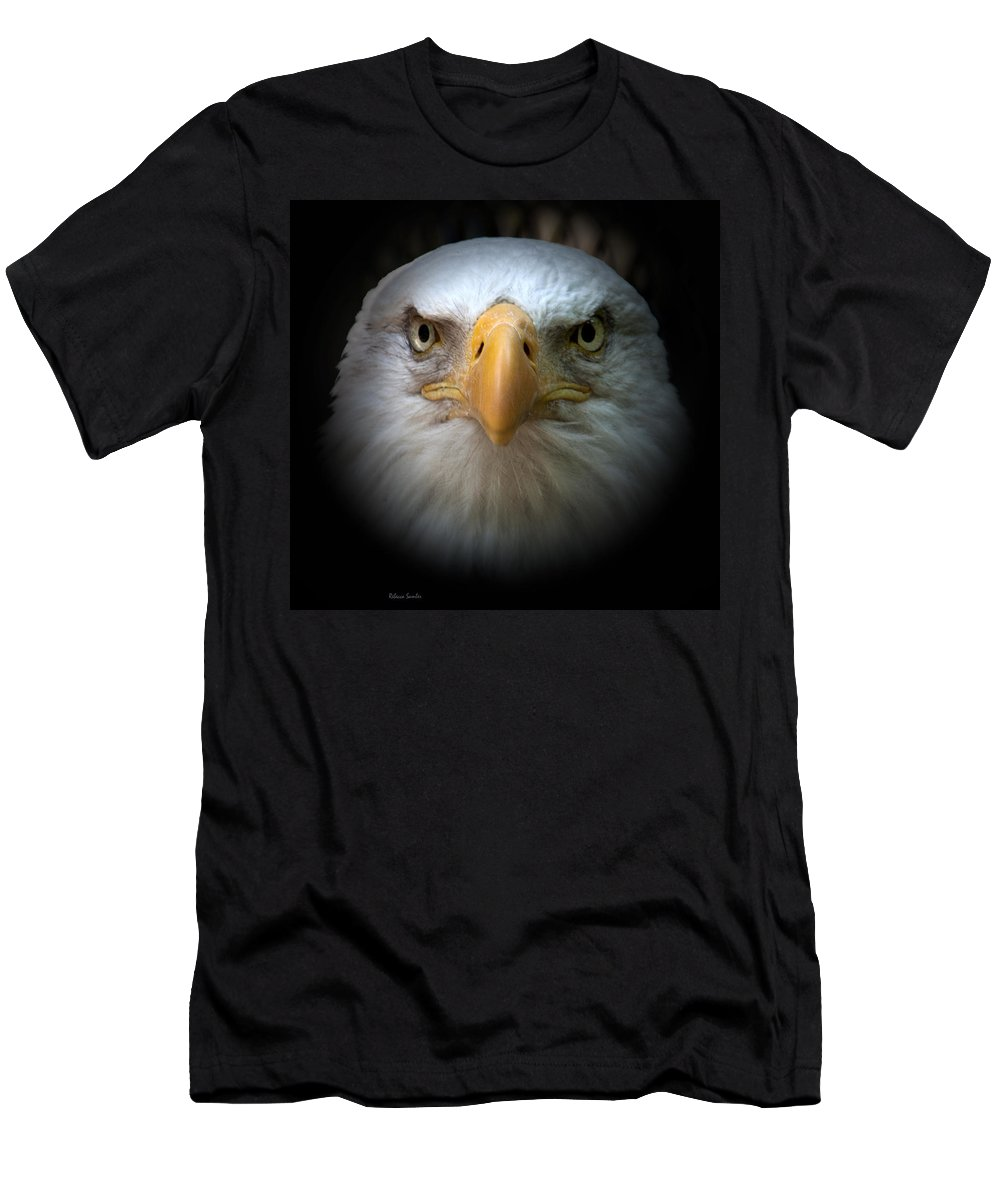 Eagle Men's T-Shirt (Athletic Fit) featuring the photograph Eagle by Rebecca Samler