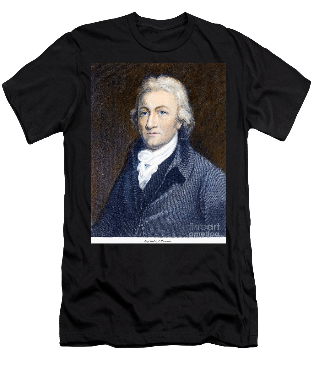18th Century Men's T-Shirt (Athletic Fit) featuring the photograph Edmund Cartwright by Granger