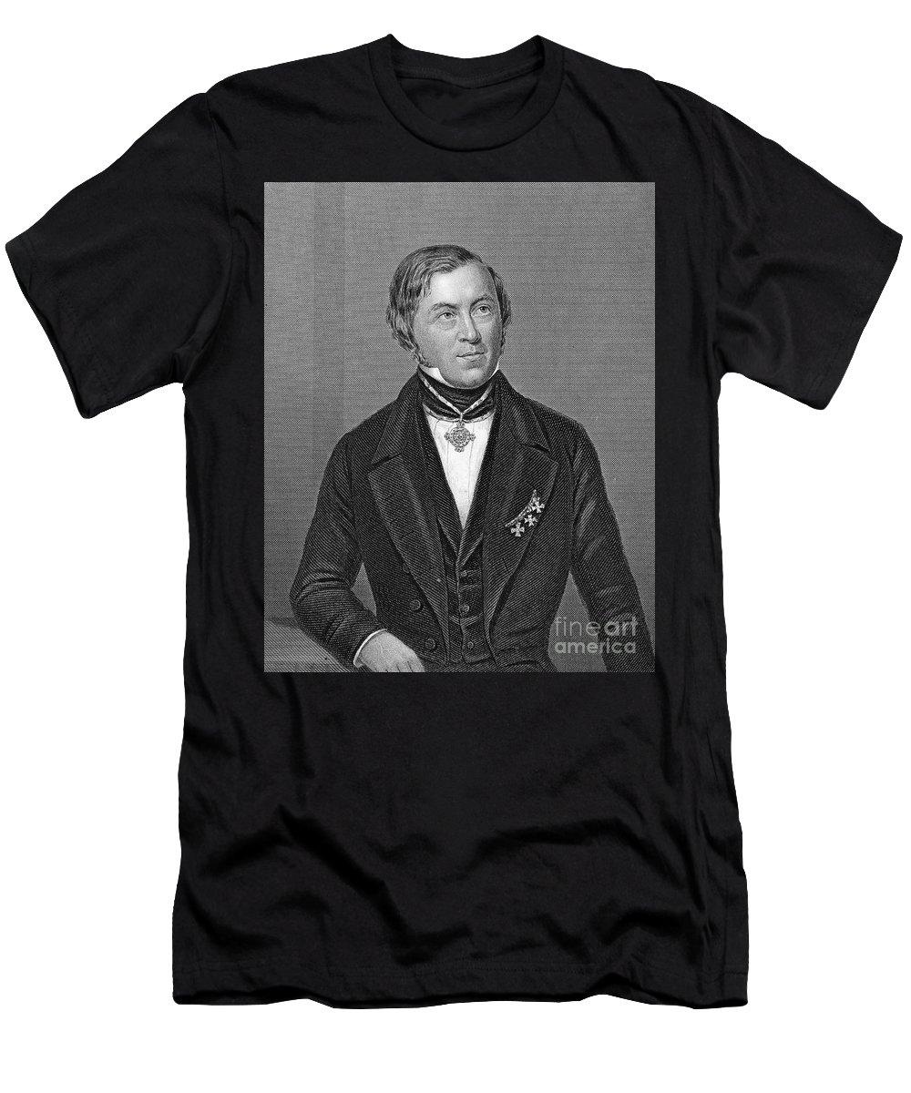 19th Century Men's T-Shirt (Athletic Fit) featuring the photograph Eilhardt Mitscherlich by Granger