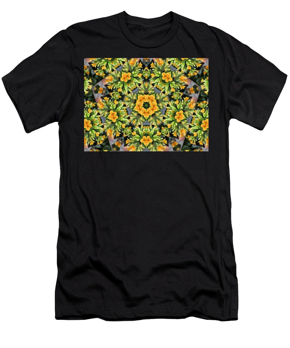 Flower Men's T-Shirt (Athletic Fit) featuring the photograph Emerson by Trish Tritz
