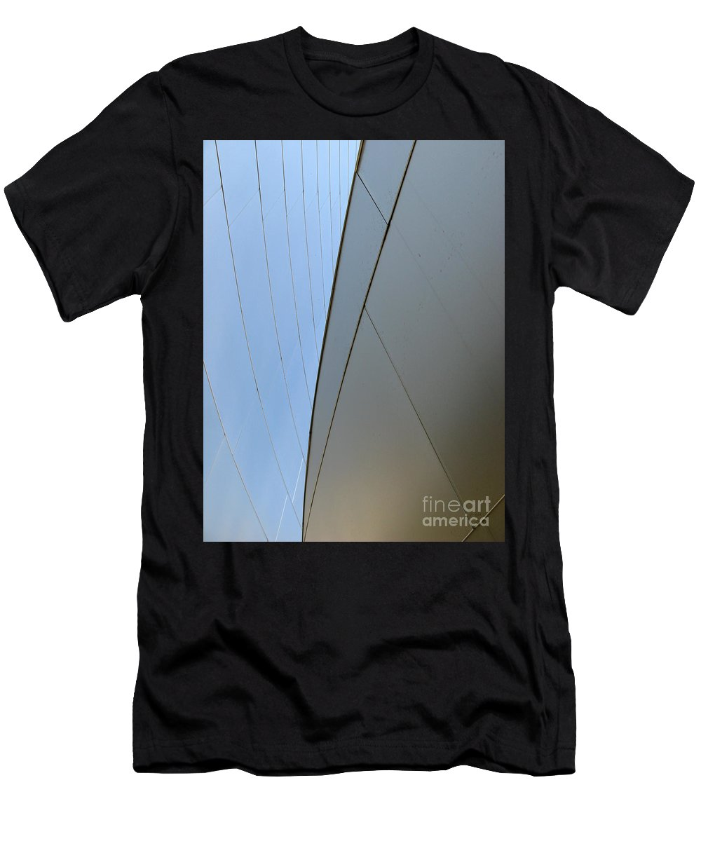 Abstract Men's T-Shirt (Athletic Fit) featuring the photograph Patterns And Colors. Equilibrium by Ausra Huntington nee Paulauskaite