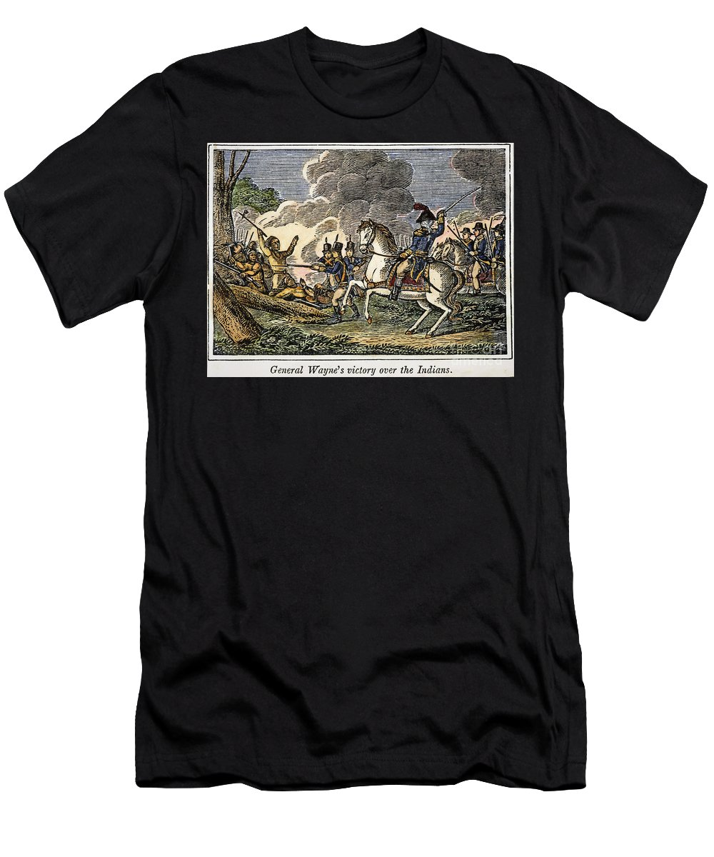 1794 Men's T-Shirt (Athletic Fit) featuring the photograph Fallen Timbers Battle by Granger