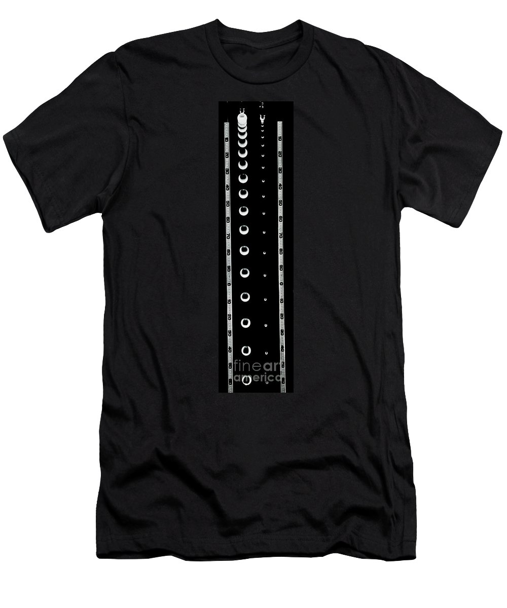 Falling Men's T-Shirt (Athletic Fit) featuring the photograph Falling Bodies by Berenice Abbott