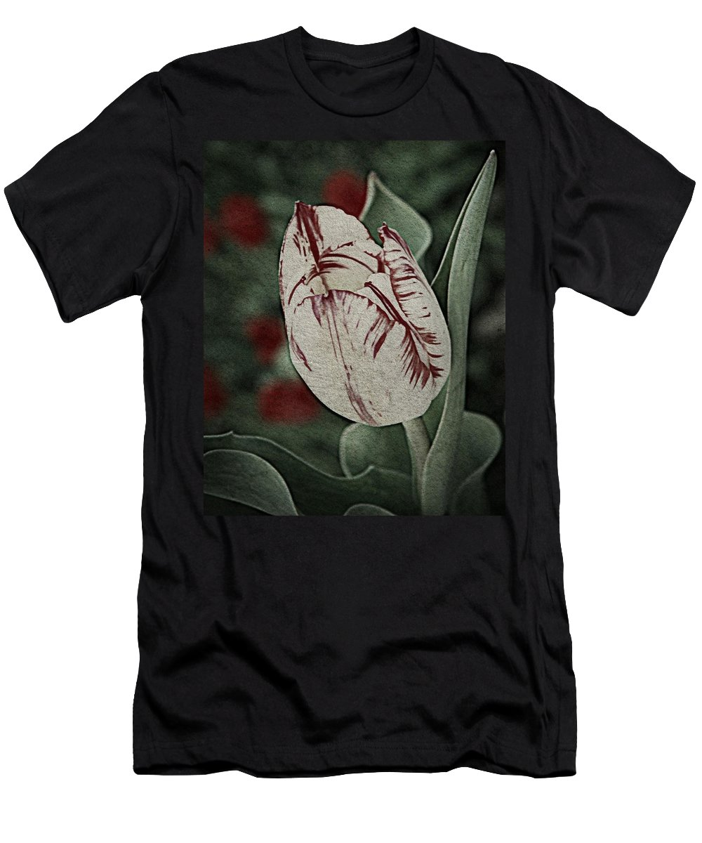 Nature Men's T-Shirt (Athletic Fit) featuring the photograph Feathered Markings by Chris Berry
