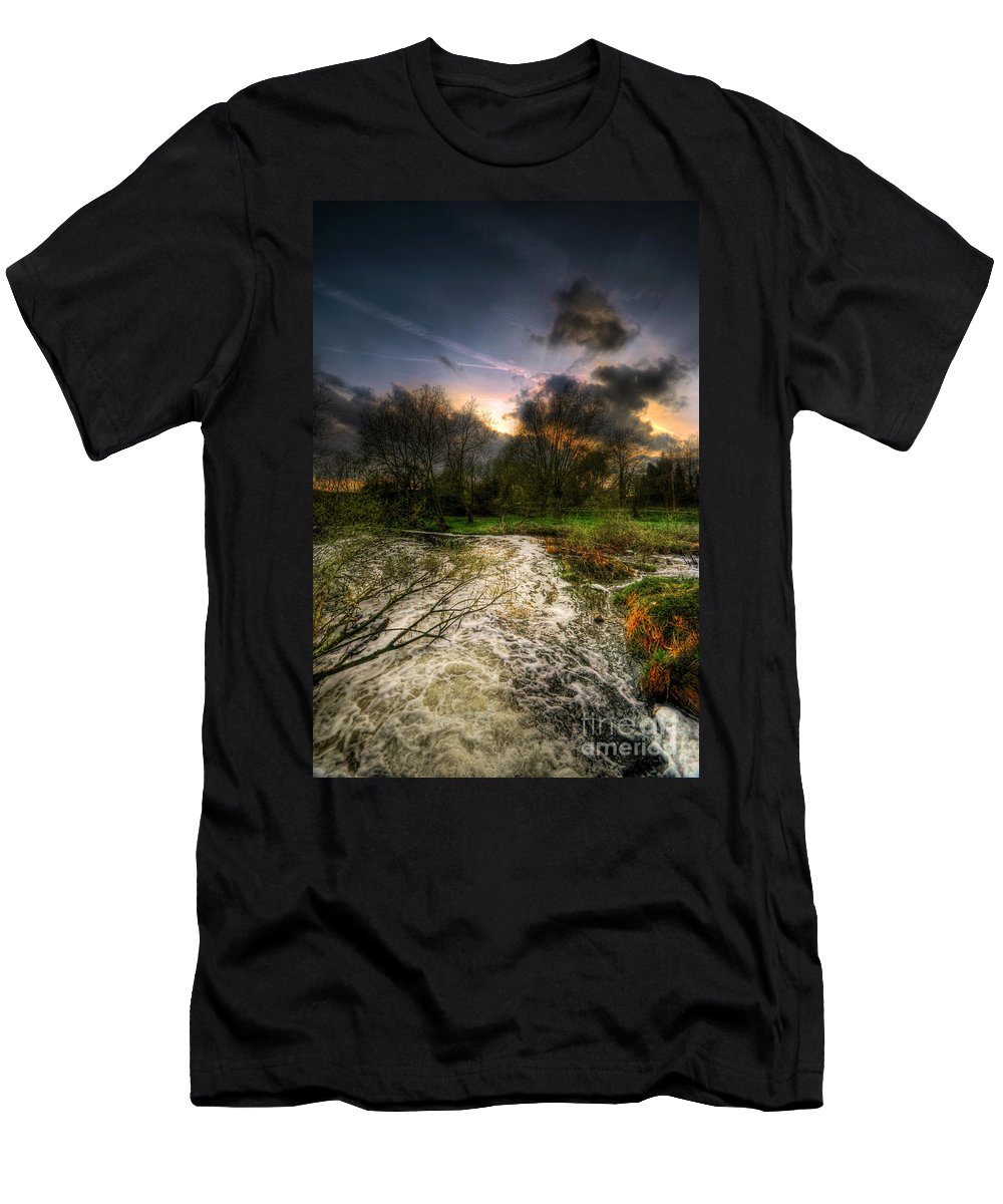 Art Men's T-Shirt (Athletic Fit) featuring the photograph Feeling Over The Weather by Yhun Suarez