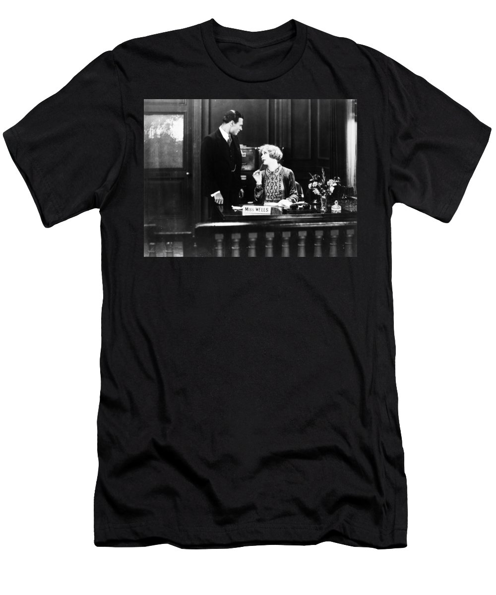 -offices- Men's T-Shirt (Athletic Fit) featuring the photograph Figures Dont Lie, 1927 by Granger