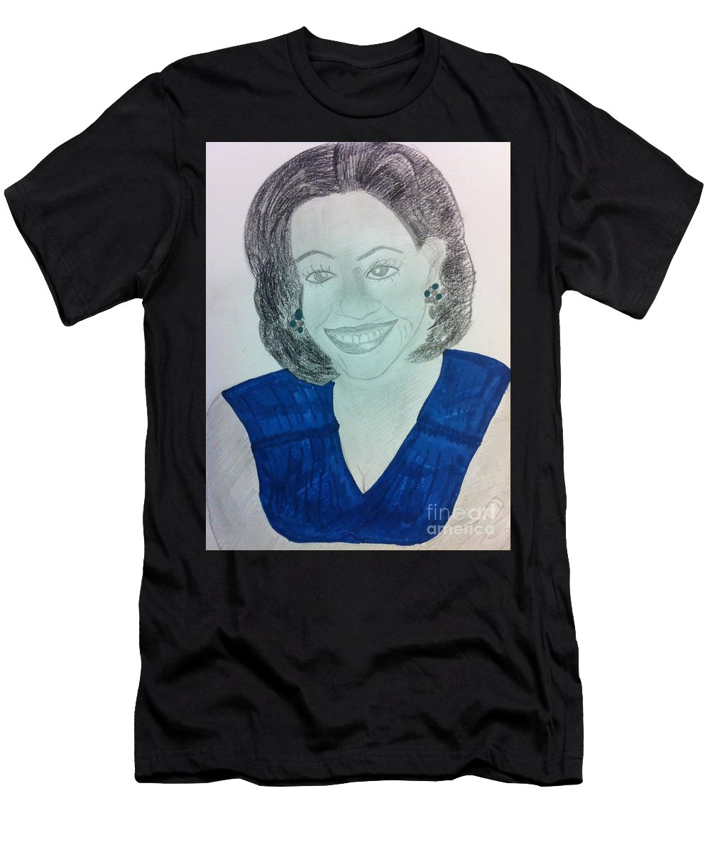 f5b657d0 First Lady Michelle Obama T-Shirt for Sale by Charita Padilla