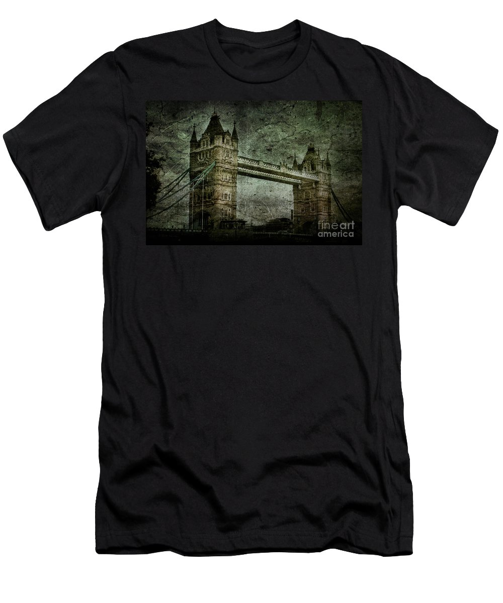 Tower Men's T-Shirt (Athletic Fit) featuring the photograph Former Sanctions by Andrew Paranavitana