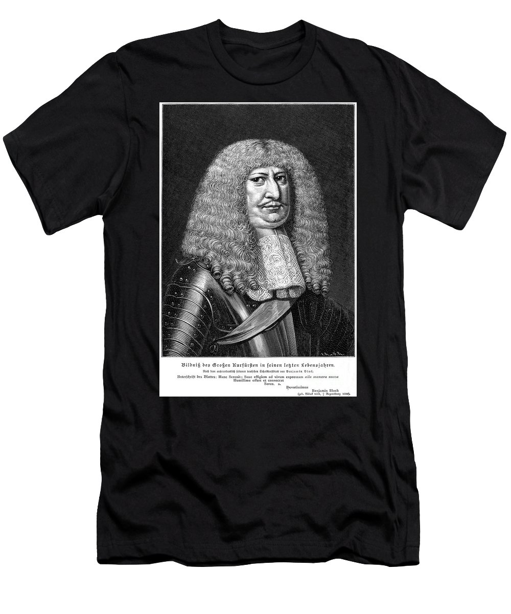 Brandenburg Men's T-Shirt (Athletic Fit) featuring the photograph Frederick William (1620-1688) by Granger