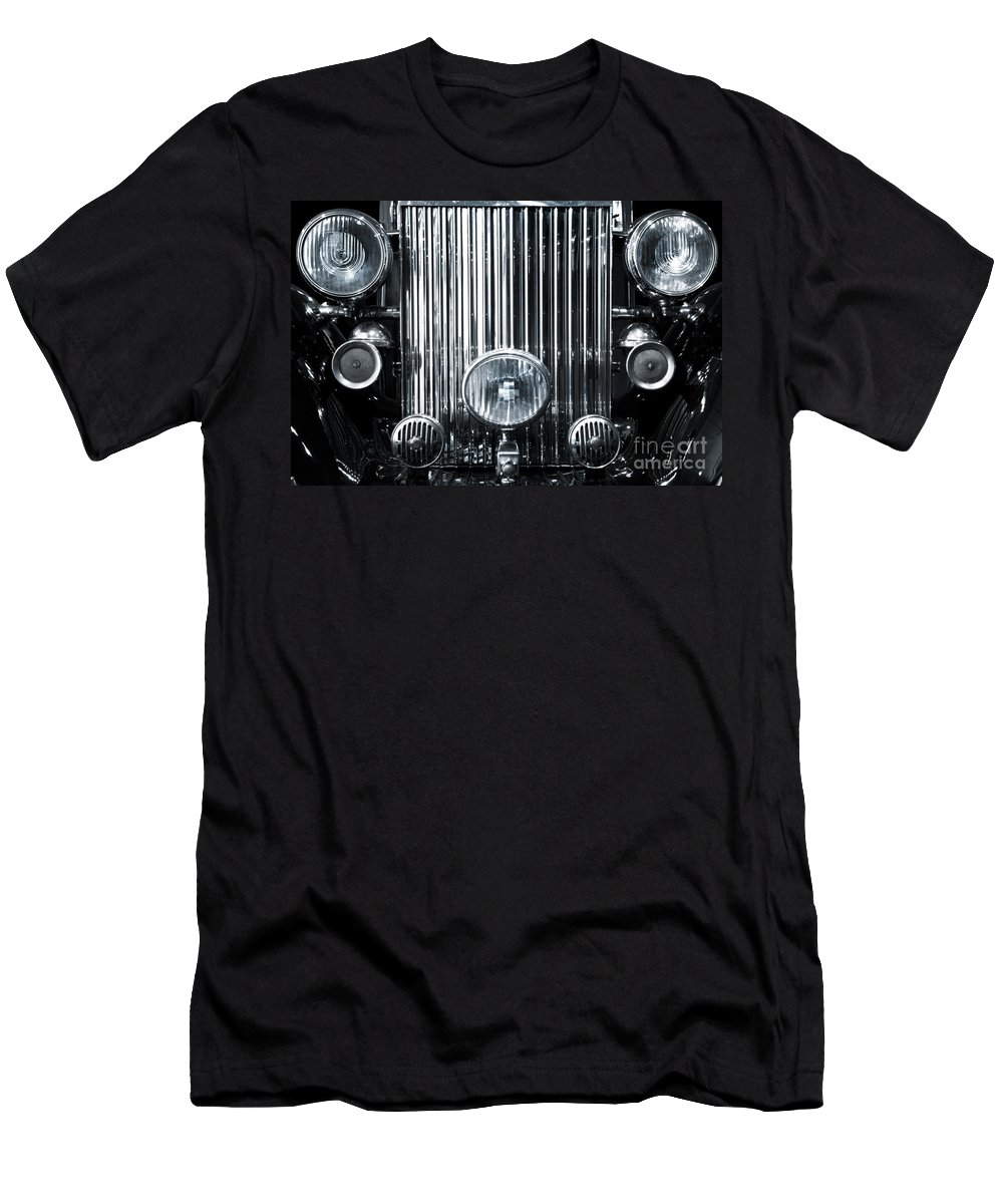 American Men's T-Shirt (Athletic Fit) featuring the photograph Front Grid by Carlos Caetano