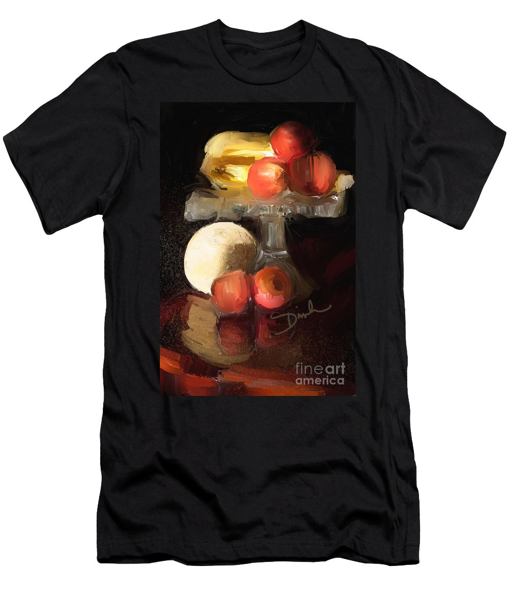 Fruit Men's T-Shirt (Athletic Fit) featuring the photograph Fruit Of Renaissance Period by Dinah Anaya