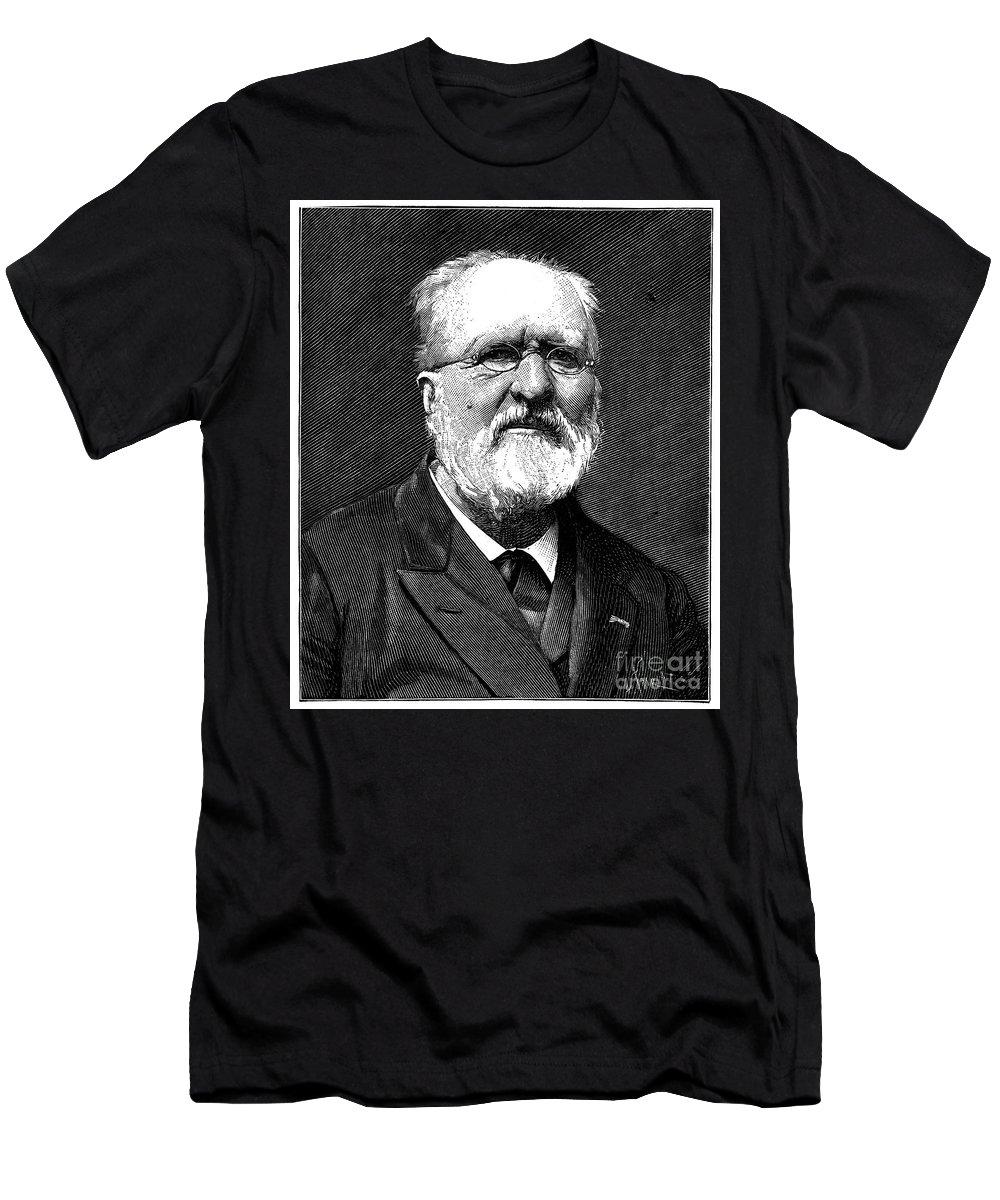 19th Century Men's T-Shirt (Athletic Fit) featuring the photograph Gabriel De Mortillet by Granger