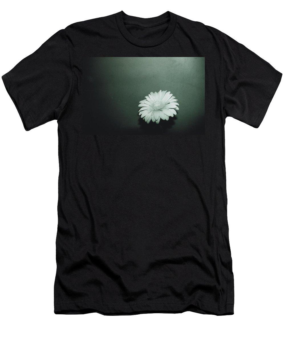 Gerbera Men's T-Shirt (Athletic Fit) featuring the photograph Gerbera by Cheryl Hucke