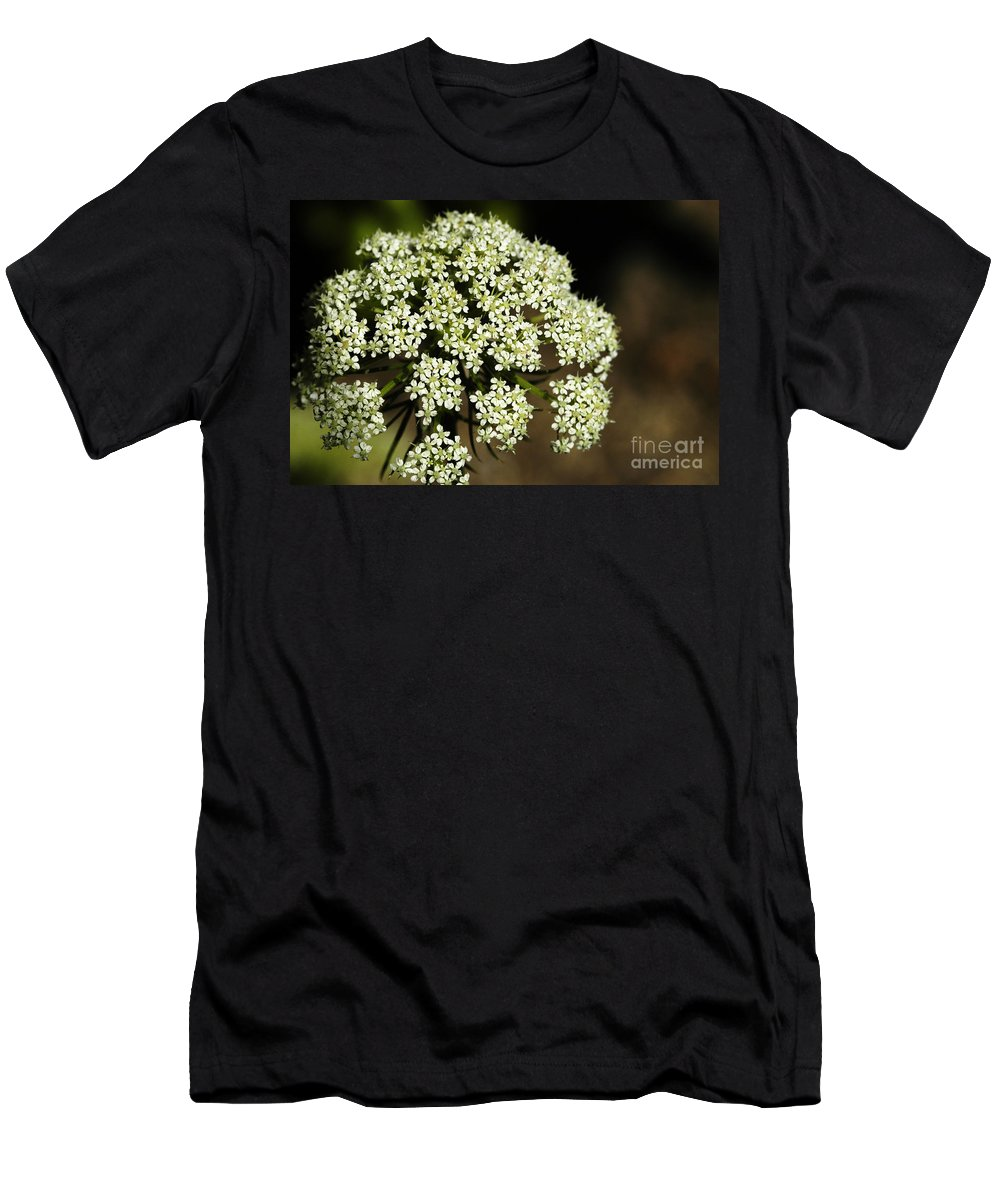 Giant Buckwheat Men's T-Shirt (Athletic Fit) featuring the photograph Giant Buckwheat Flower by Raul Gonzalez Perez
