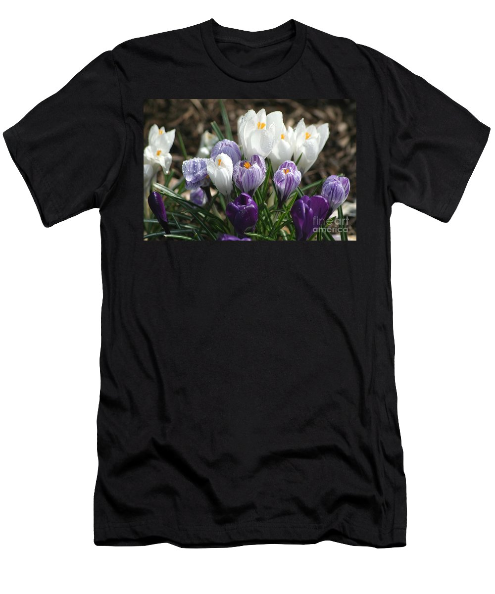 Floral Men's T-Shirt (Athletic Fit) featuring the photograph Glorious Spring by Living Color Photography Lorraine Lynch