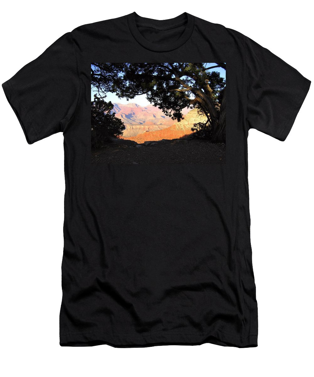 Grand Canyon Men's T-Shirt (Athletic Fit) featuring the photograph Grand Canyon 21 by Will Borden