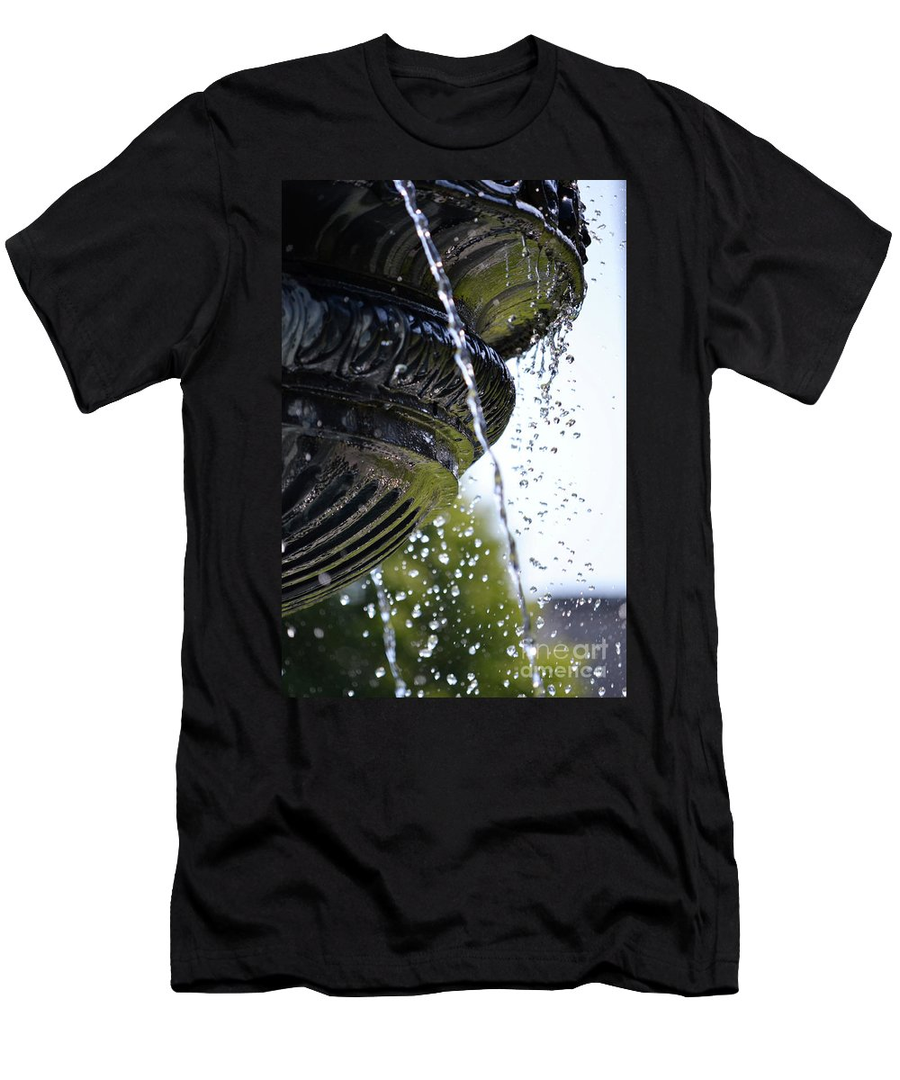 British Columbia Men's T-Shirt (Athletic Fit) featuring the photograph Grief by Traci Cottingham