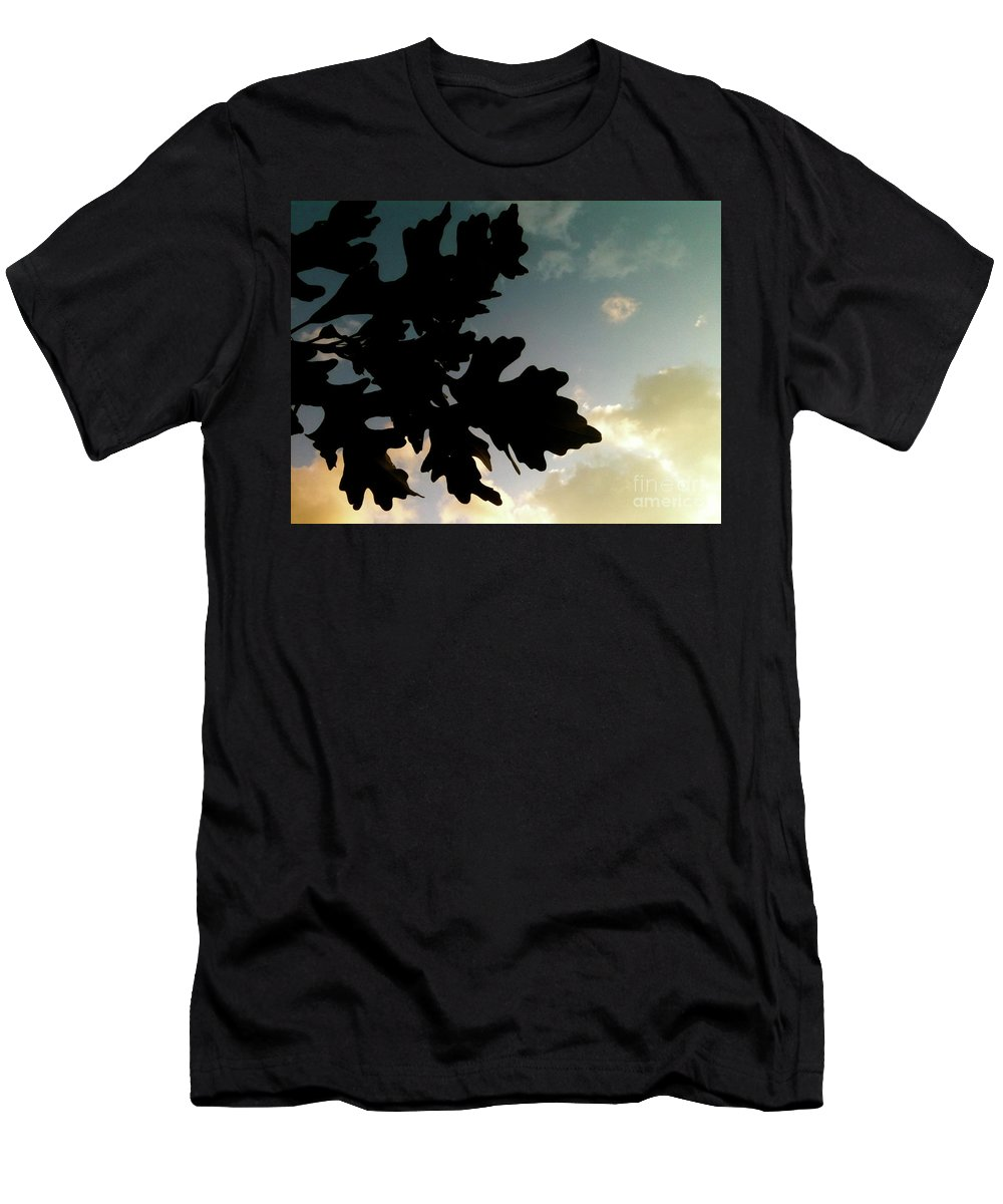 Bandon Beach Men's T-Shirt (Athletic Fit) featuring the photograph Hands Away by Trish Hale