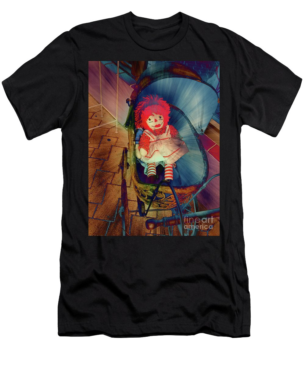Retro Men's T-Shirt (Athletic Fit) featuring the photograph Happy Dolly by Susanne Van Hulst