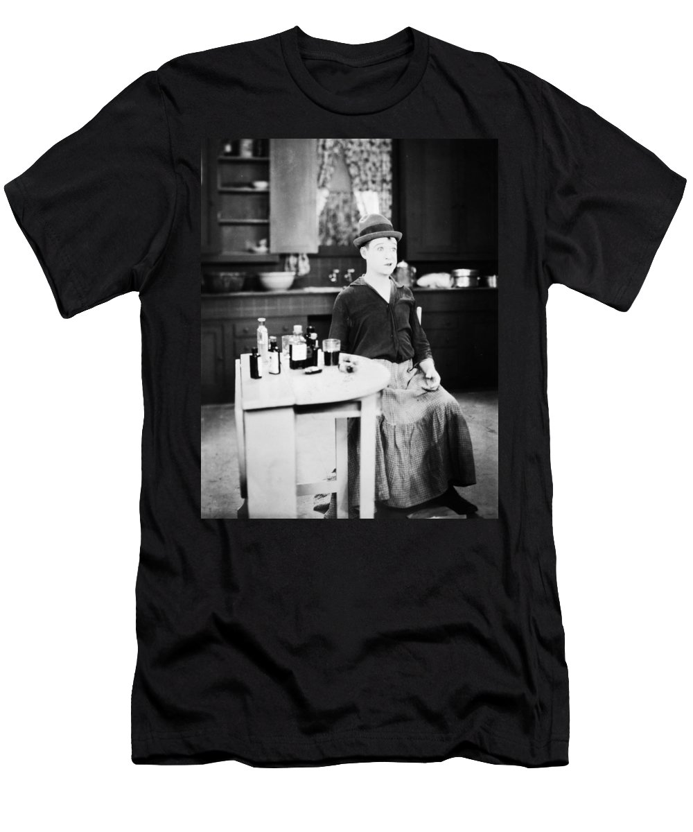 20th Century Men's T-Shirt (Athletic Fit) featuring the photograph Harry Philmore Langdon by Granger