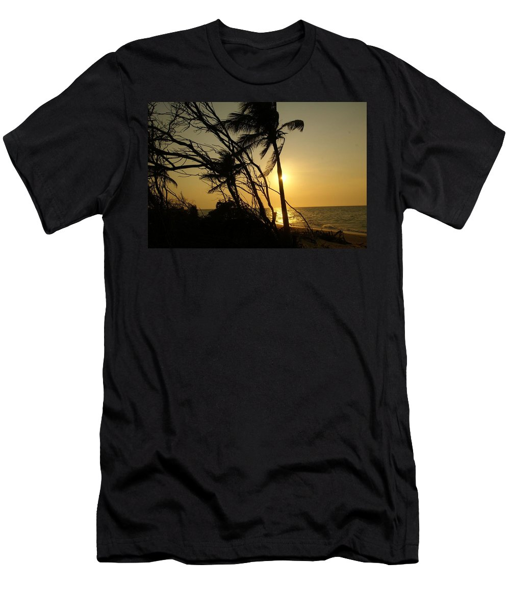 Mexico Men's T-Shirt (Athletic Fit) featuring the photograph Hidden Paradise by Christy Leigh