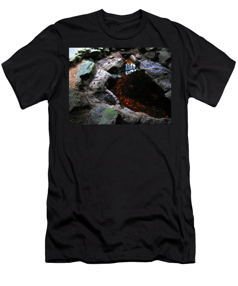 Coins Men's T-Shirt (Athletic Fit) featuring the photograph Hopeful Wishing by April Patterson