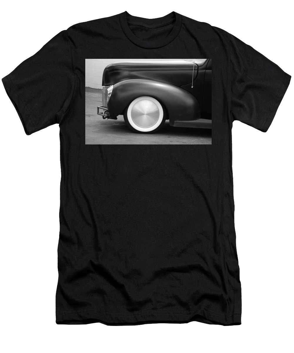 Hot Rod Men's T-Shirt (Athletic Fit) featuring the photograph Hot Rod Wheels by Rob Hans