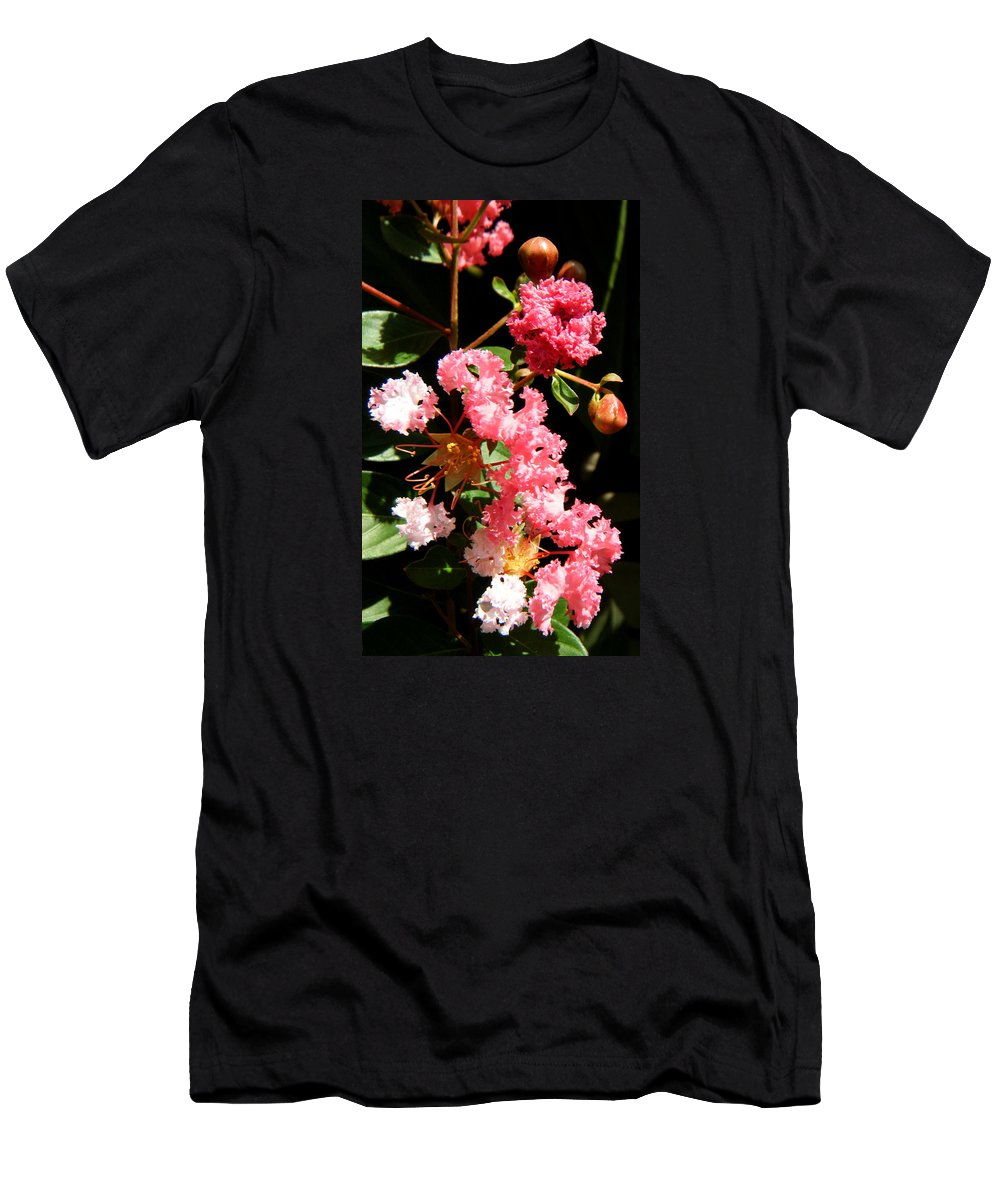 Flowers Men's T-Shirt (Athletic Fit) featuring the photograph Interesting Flowers by April Patterson