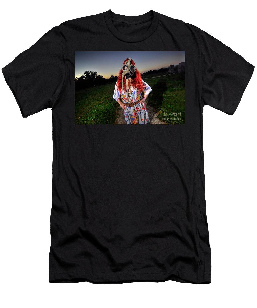 Yhun Suarez Men's T-Shirt (Athletic Fit) featuring the photograph Jazzy Jeff's Junk 10.0 by Yhun Suarez