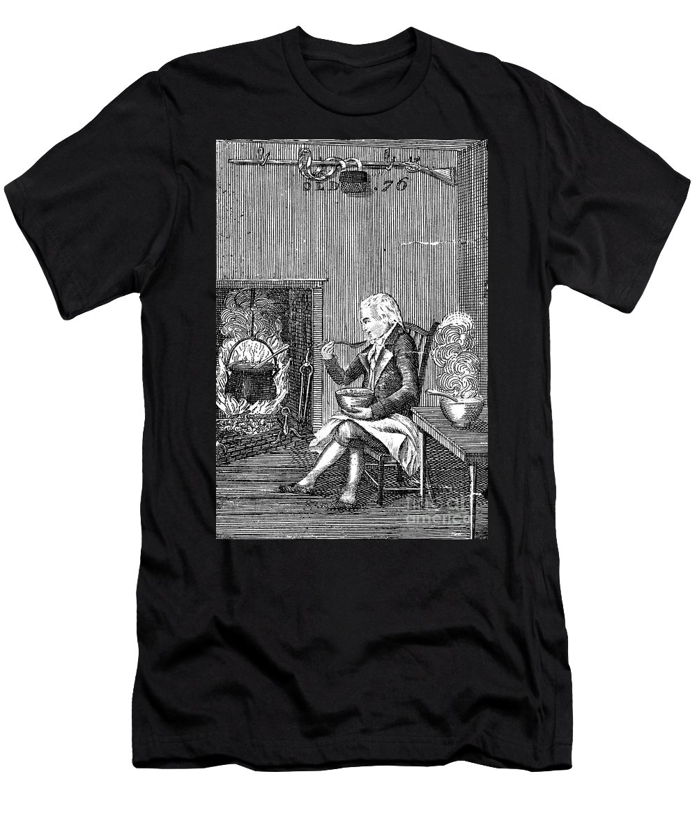 1796 Men's T-Shirt (Athletic Fit) featuring the photograph Joel Barlow Frontispiece by Granger