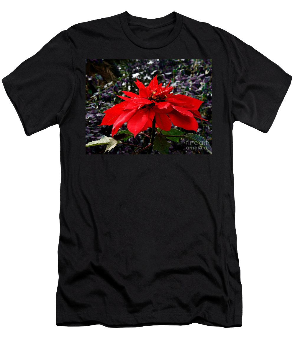 Christmas Men's T-Shirt (Athletic Fit) featuring the photograph Joy And Prosperity II by Xueling Zou