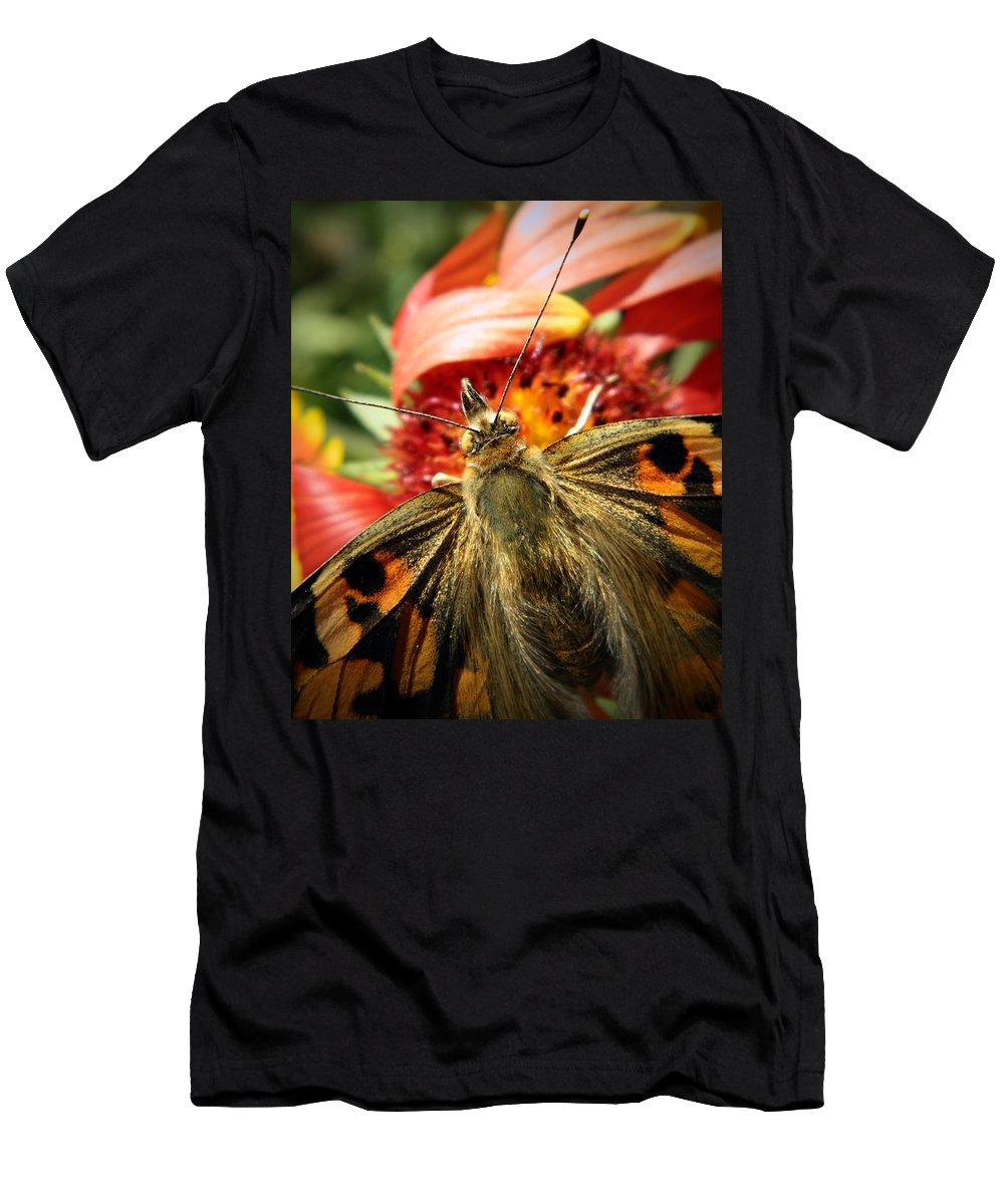 Nature Men's T-Shirt (Athletic Fit) featuring the photograph Latecomer by Chris Berry