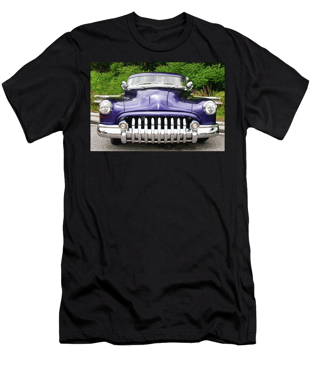 Automobile Men's T-Shirt (Athletic Fit) featuring the photograph Lead Sled  7768a by Guy Whiteley