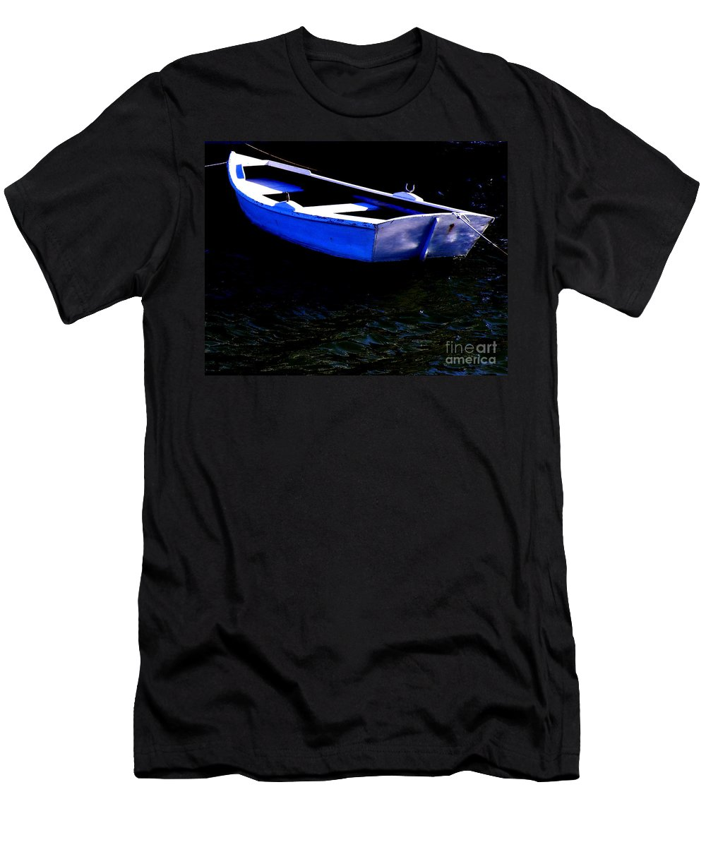 Row-boat Men's T-Shirt (Athletic Fit) featuring the photograph Life Is But A Dream by Lainie Wrightson