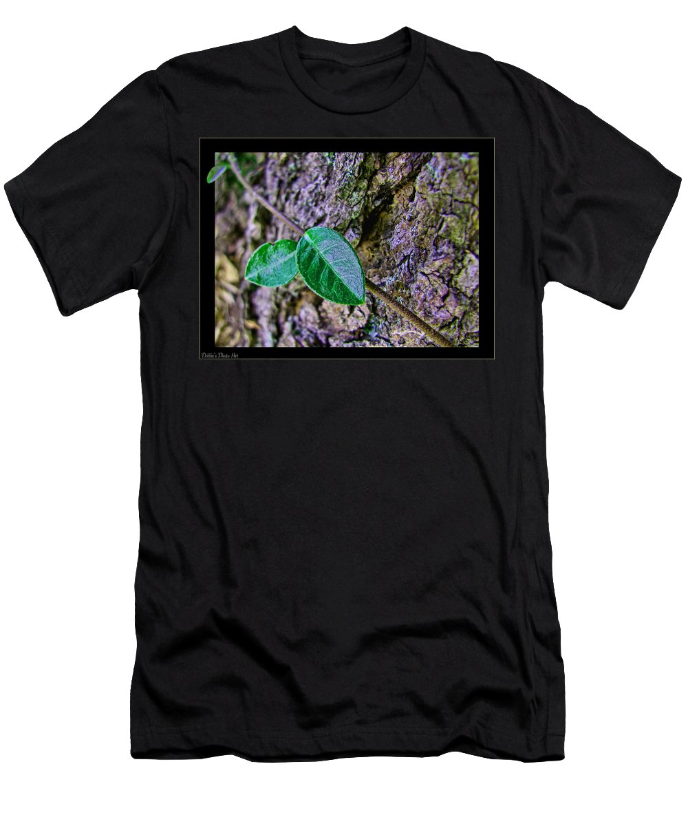 Men's T-Shirt (Athletic Fit) featuring the photograph Little Vine by Debbie Portwood