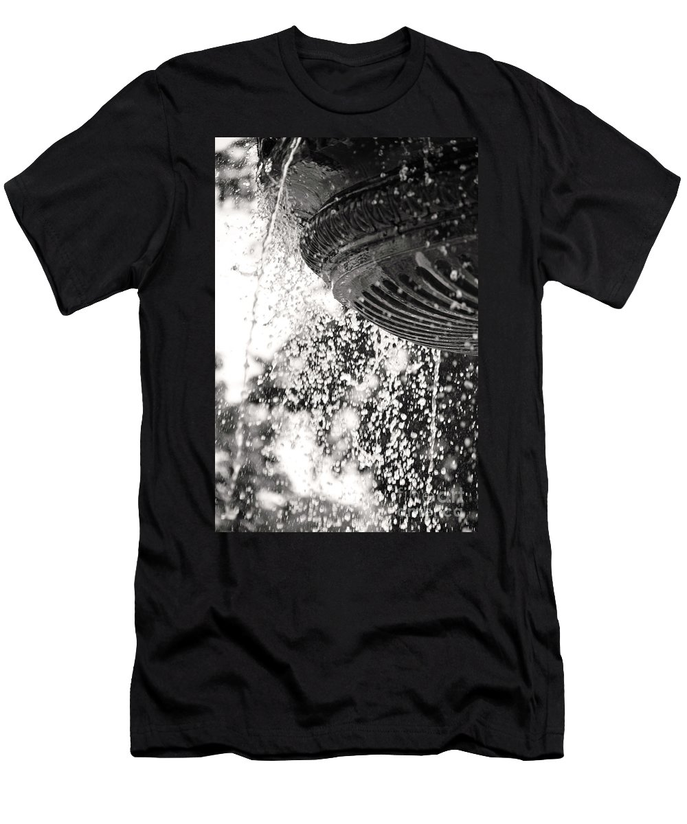 British Columbia Men's T-Shirt (Athletic Fit) featuring the photograph Loss by Traci Cottingham