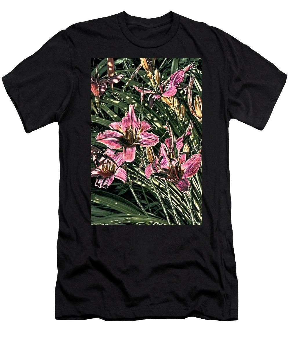 Artistic Photography Men's T-Shirt (Athletic Fit) featuring the photograph Meadow Sunrise by Tom Prendergast