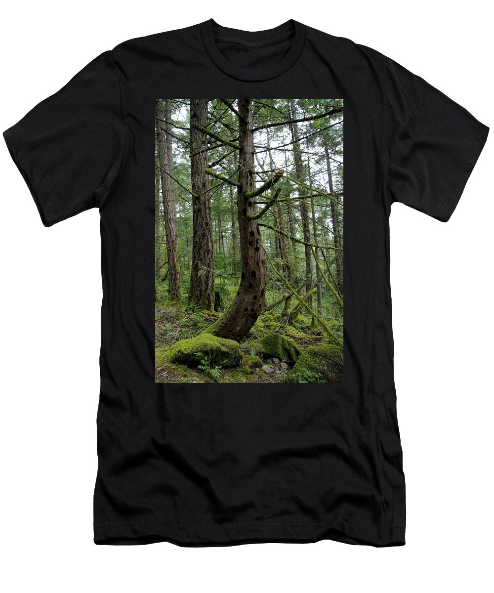 Tree Men's T-Shirt (Athletic Fit) featuring the photograph More Island Tree Art by John Greaves