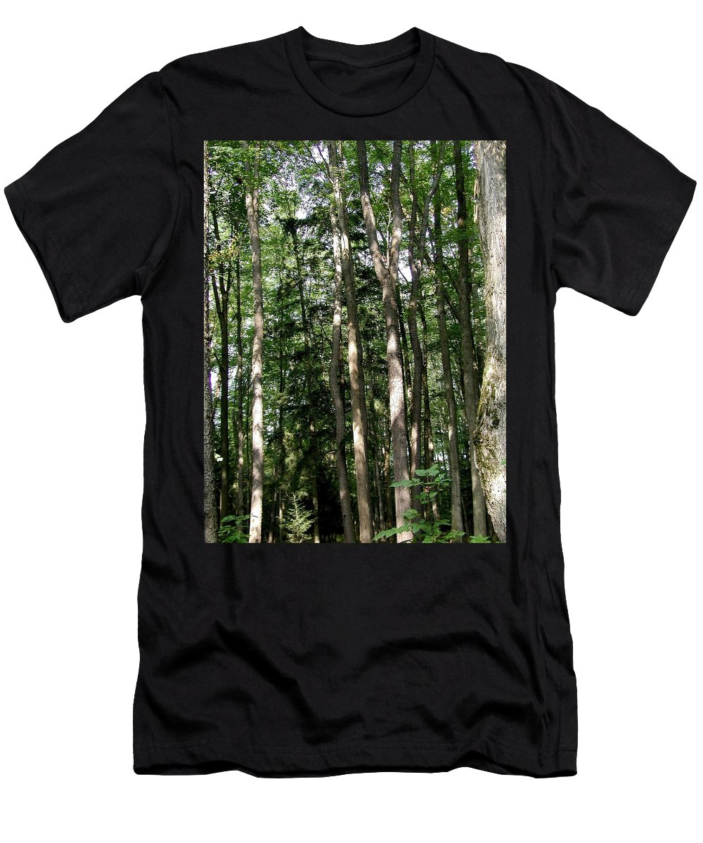 Campgrounds Men's T-Shirt (Athletic Fit) featuring the photograph More Platte by Joseph Yarbrough