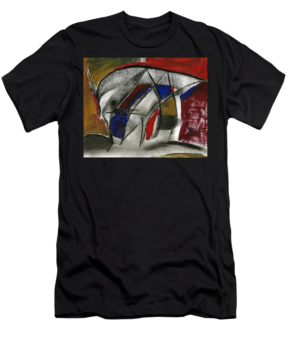 New Entrance Men's T-Shirt (Athletic Fit) featuring the painting New Entrance by Taylor Webb