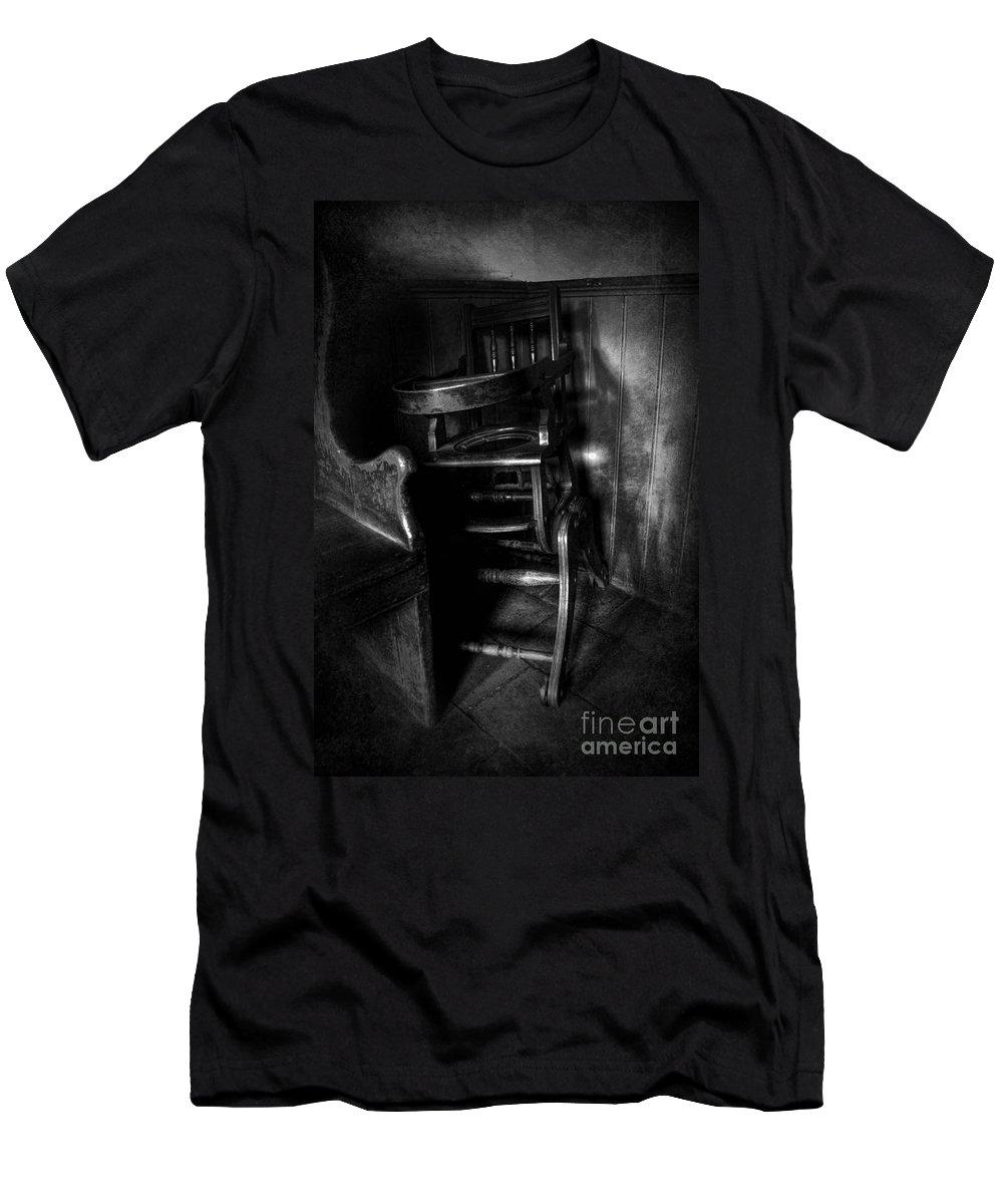 Art Men's T-Shirt (Athletic Fit) featuring the photograph Newton's Corner by Yhun Suarez