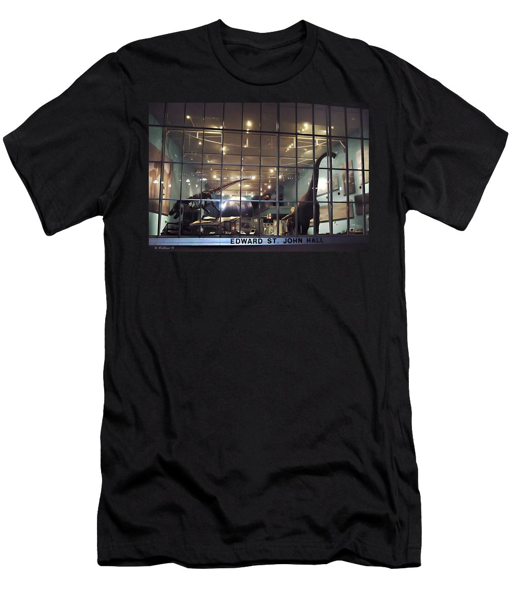 2d Men's T-Shirt (Athletic Fit) featuring the photograph Night At The Museum by Brian Wallace