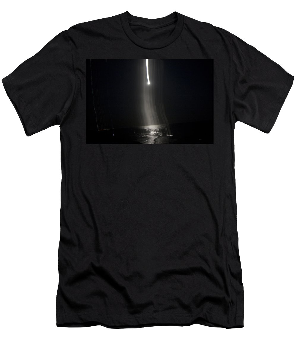 Moon Men's T-Shirt (Athletic Fit) featuring the photograph Night The Moon Fell Iv by Betsy Knapp