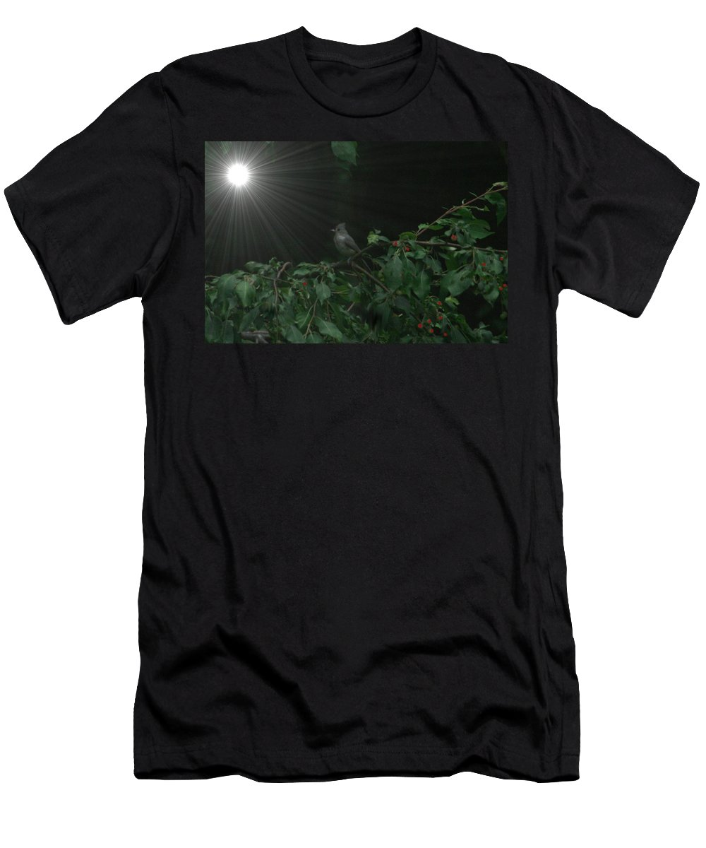 Photo Men's T-Shirt (Athletic Fit) featuring the photograph Night Watch by Barbara S Nickerson