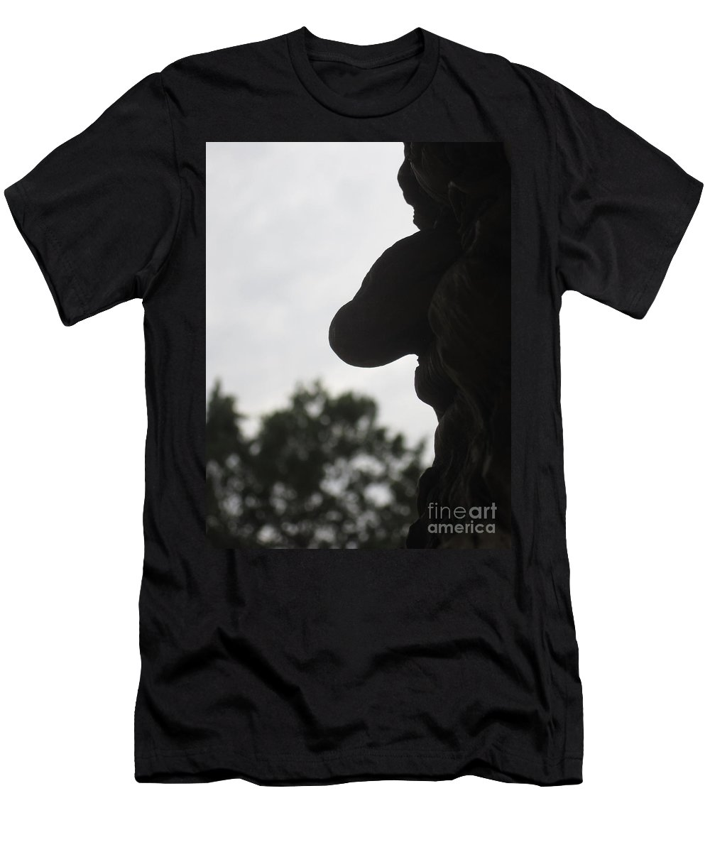 Old Men's T-Shirt (Athletic Fit) featuring the photograph Old Profile by Jan Prewett