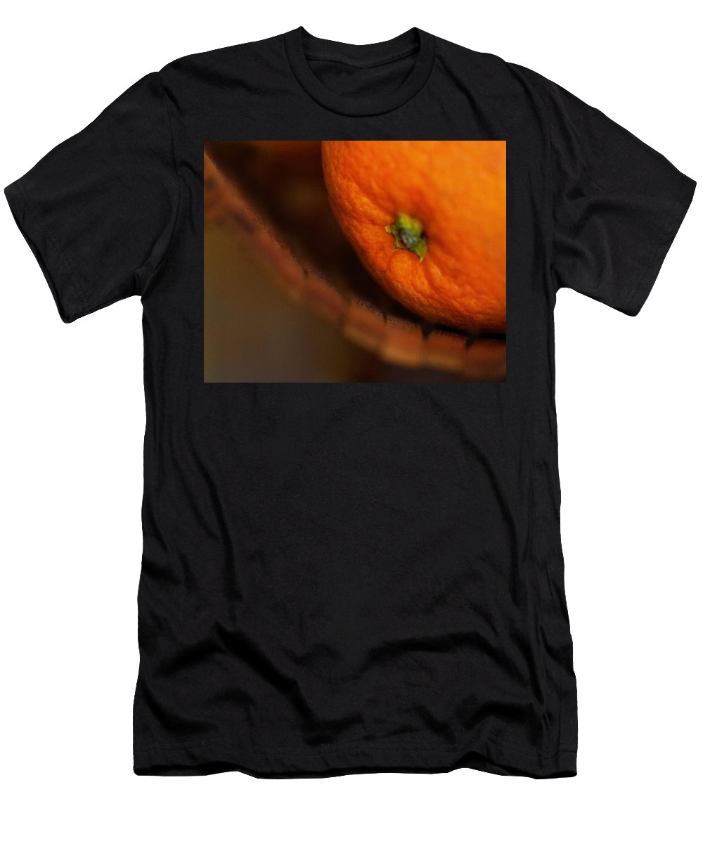 Fruit Men's T-Shirt (Athletic Fit) featuring the photograph Orange Sunshine by Susan Capuano
