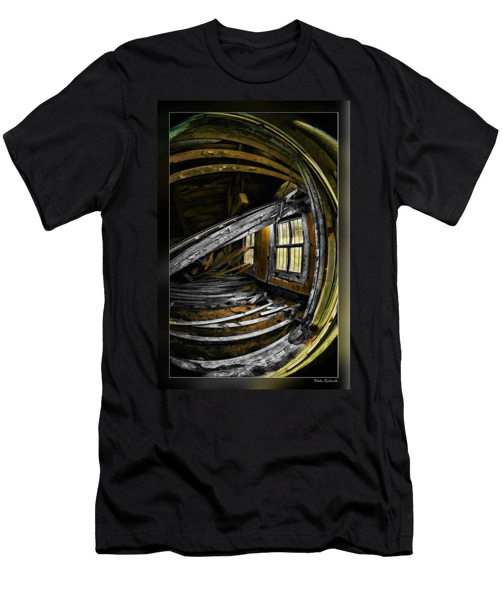 Art Photography Men's T-Shirt (Athletic Fit) featuring the photograph Over Aged by Blake Richards