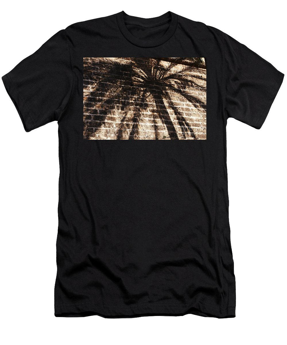 Palmera Men's T-Shirt (Athletic Fit) featuring the photograph Palm Tree Cup by Agusti Pardo Rossello