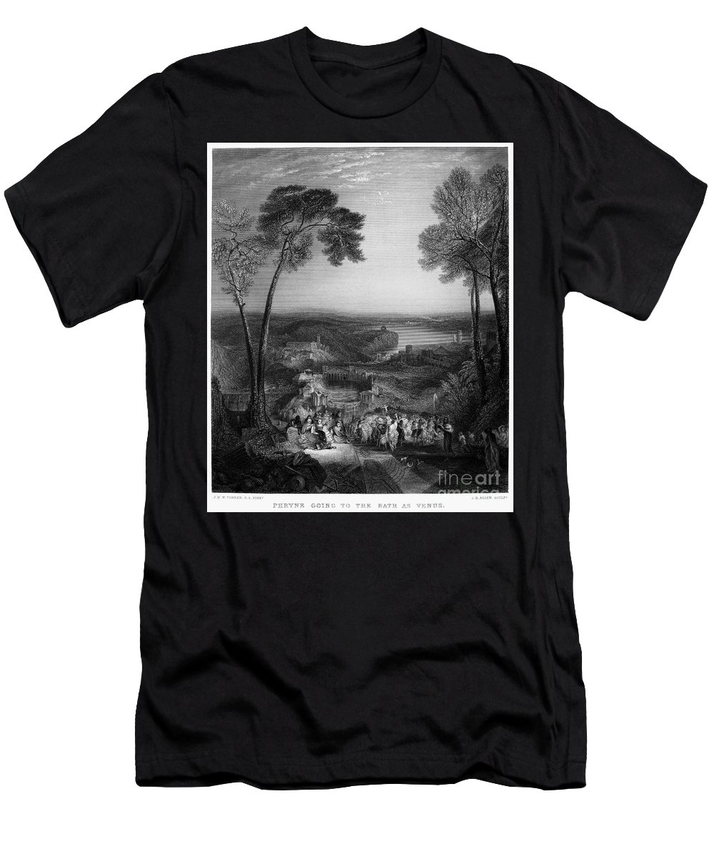4th Century B.c Men's T-Shirt (Athletic Fit) featuring the photograph Phryne (4th Century B.c.) by Granger